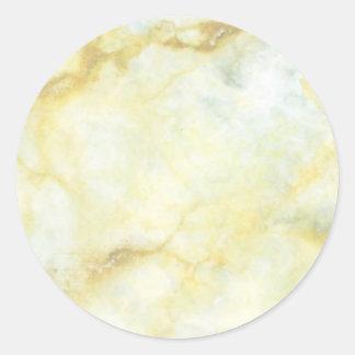 Especias calientes - sombra Flowrals puntos Etiqueta Redonda
