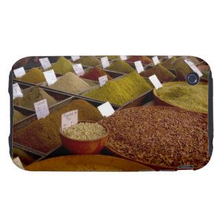 Especias en el mercado del granjero tough iPhone 3 cárcasa