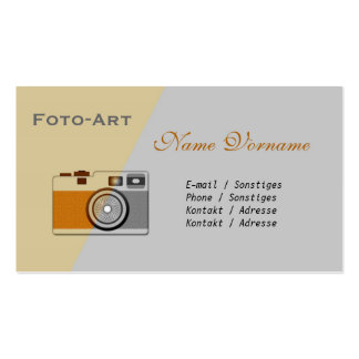especie de fotografía tarjetas de visita