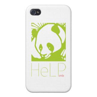 Especie de la prioridad: Panda gigante iPhone 4 Cárcasas