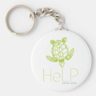 Especie de la prioridad: Tortugas marinas Llavero Redondo Tipo Pin