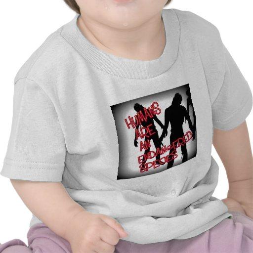 Especie en peligro camisetas