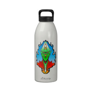 Especie extranjera malvada 319 de otra galaxia botella de beber