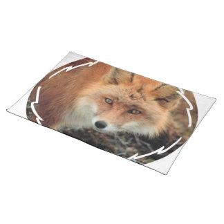 Especie Placemat del Fox Mantel