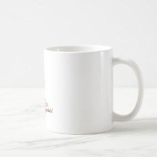 Espectáculo del papel secundario taza básica blanca
