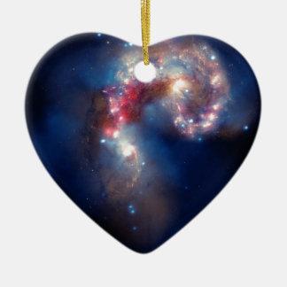 Espectáculo galáctico adorno de navidad