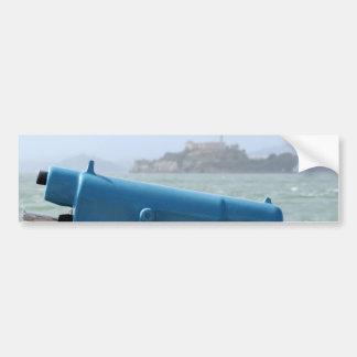 Espectador Alcatraz de la observación Etiqueta De Parachoque