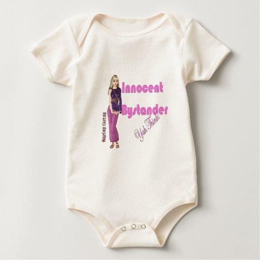 Espectador inocente… Yah piensa Trajes De Bebé