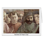 Espectadores de Filippino Lippi Felicitacion
