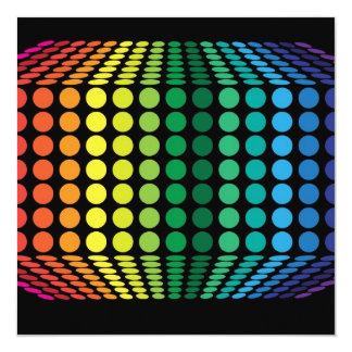 """espectro 3D Invitación 5.25"""" X 5.25"""""""