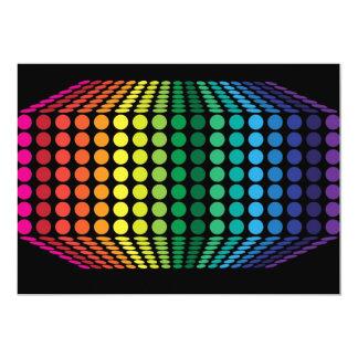 """espectro 3D Invitación 5"""" X 7"""""""