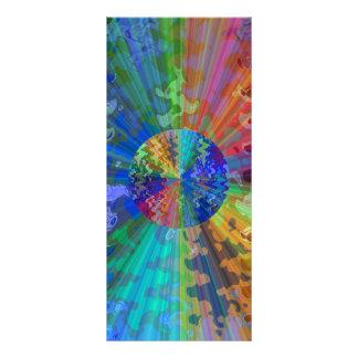 Espectro azul cósmico de V2 Blueray Tarjetas Publicitarias Personalizadas