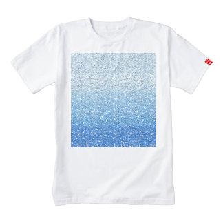 Espectro azul reluciente de Ombre