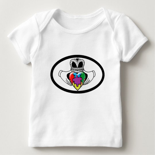 Espectro Claddagh Playera De Bebé