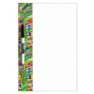 Espectro colorido de Bush de la hierba artística V Pizarra