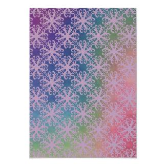 Espectro con la invitación púrpura abstracta de la