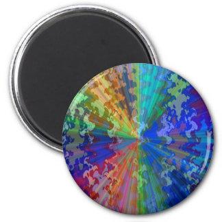 Espectro de Blueray: Triturador circular de la chi Imán De Nevera