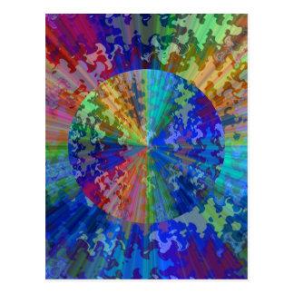 Espectro de Blueray: Triturador circular de la Postales