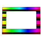 espectro de color del arco iris marcos magnéticos
