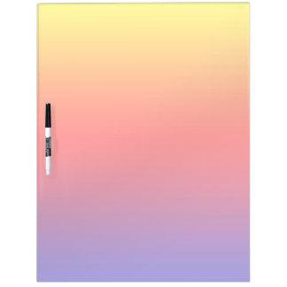 Espectro de colores horizontales -1 pizarras blancas