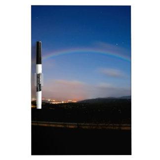 Espectro de la noche del cielo de la naturaleza pizarras blancas de calidad