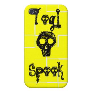 Espectro de la yogui - caja amarilla del iPhone iPhone 4 Carcasas