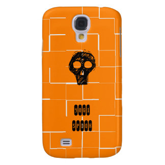 Espectro de la yogui - caja anaranjada del iPhone Funda Para Galaxy S4