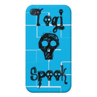 Espectro de la yogui - caja azul del iPhone iPhone 4 Cobertura
