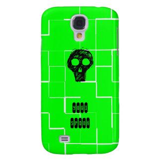 Espectro de la yogui - caja verde del iPhone Funda Para Galaxy S4