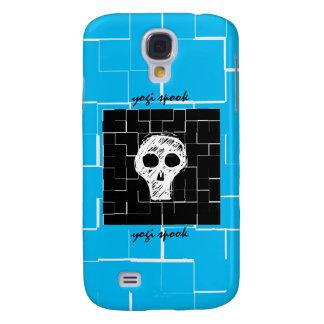 Espectro de la yogui - caso enrrollado del iPhone  Funda Para Galaxy S4