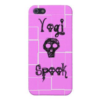 Espectro de la yogui - caso rosado del iPhone iPhone 5 Carcasas