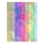 Espectro de lana de las bolas - colección de punto postal