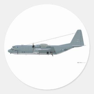 Espectro de Lockheed AC-130 Pegatina Redonda