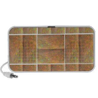 Espectro de mármol cristalino de HealingSTONE KOOL iPod Altavoces