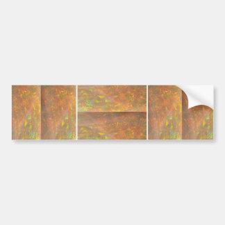 Espectro de mármol cristalino de HealingSTONE Pegatina Para Auto
