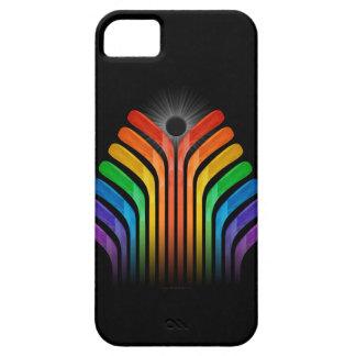 Espectro del palillo de hockey funda para iPhone SE/5/5s