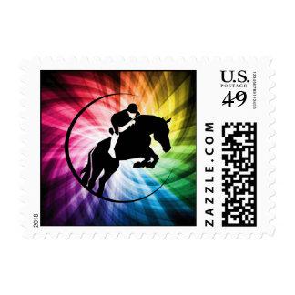 Espectro ecuestre sello