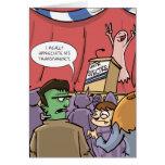 Espectro el | Halloween político del voto Felicitaciones