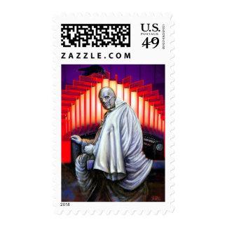 Espectro fantasma en el órgano sellos