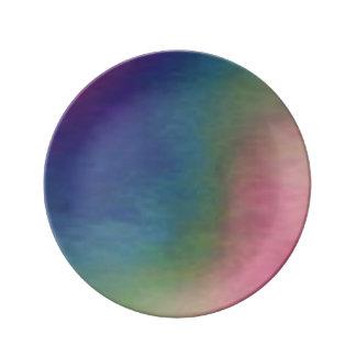 Espectro Plato De Cerámica