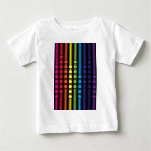 Espectro punteado playera para bebé
