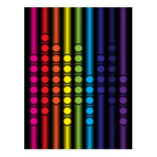 Espectro punteado postal