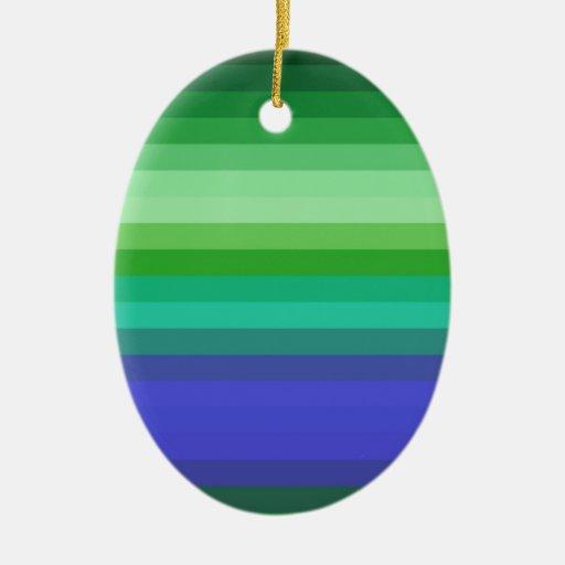 Espectro reconstruido adorno ovalado de cerámica