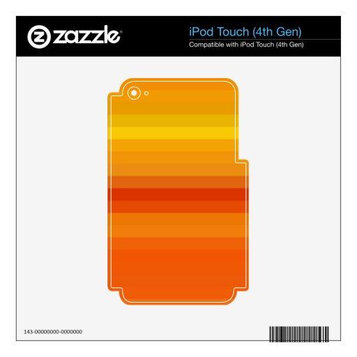 Espectro reconstruido iPod touch 4G calcomanía