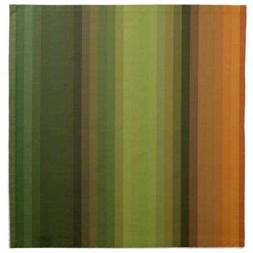 Espectro reconstruido servilletas de papel