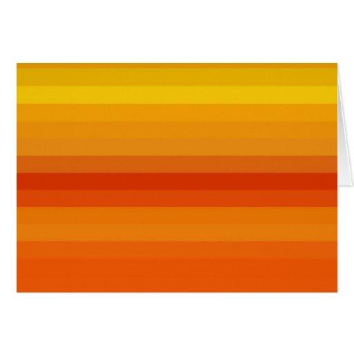 Espectro reconstruido tarjeta de felicitación