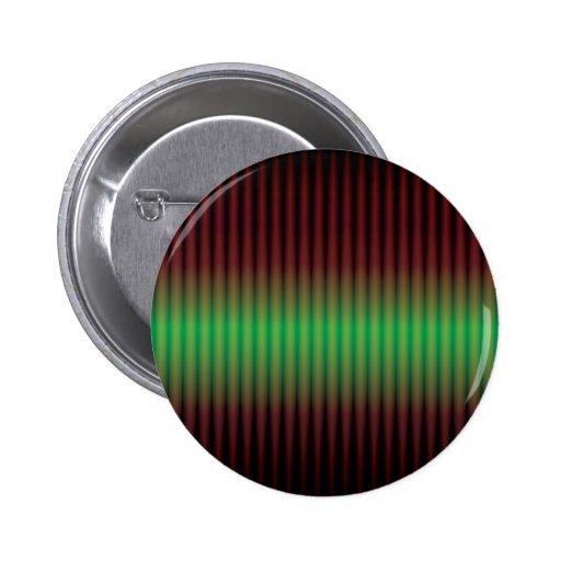 espectro verde abstracto pin redondo 5 cm