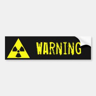 espectro Warning Pegatina Para Auto