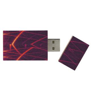 Espectrograma Memoria USB 3.0 De Madera