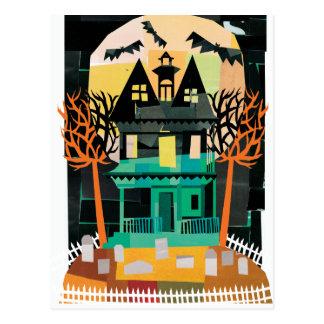 Espectros de la casa encantada tarjetas postales